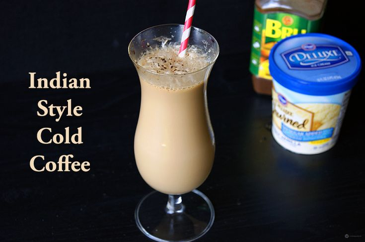 Indian Style Cold Coffee   Recipe   Cold coffee recipes ...