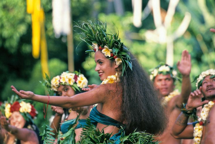 """""""Tamure"""" is a traditional Polynesian dance characterized by its symbolic body movements and alluring costumes. Don't forget to go and see these talented Tahitian dancers perform on show!"""