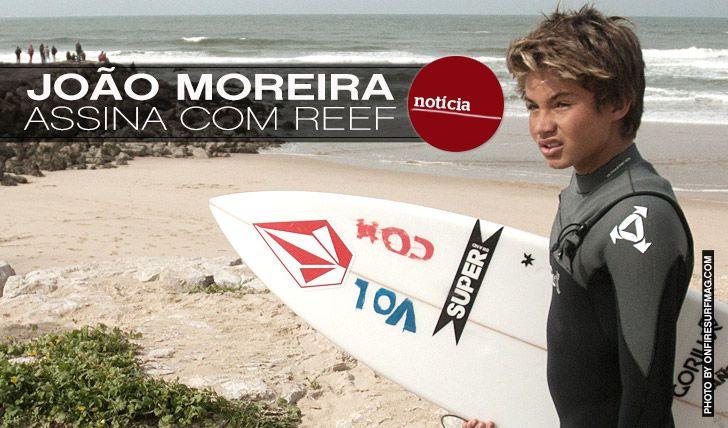 João Moreira assina com REEF