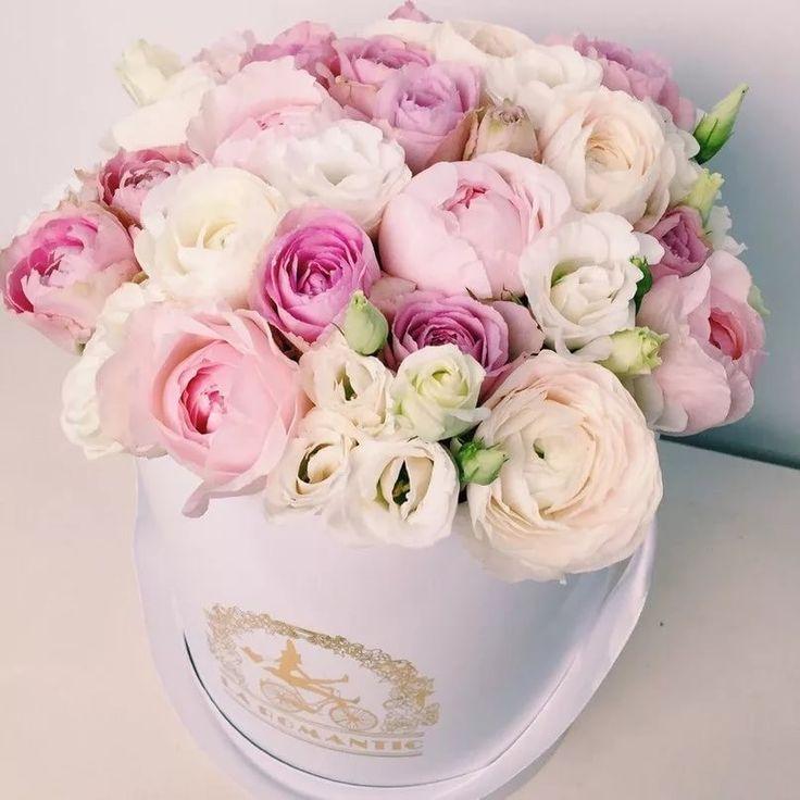 Картинки цветы в коробках на день рождения