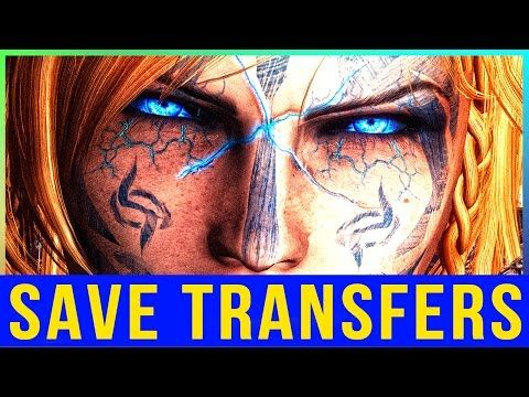 Skyrim Remastered Character SAVE TRANSFER News for PC & Console Mods (Skyrim Special Edition)! - YouTube