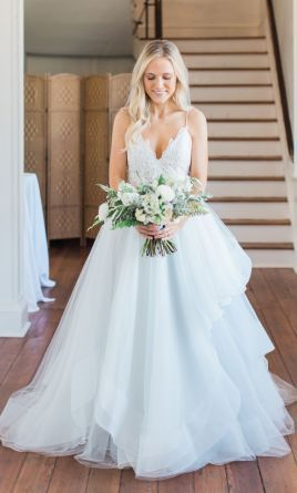 28b94d69976c Used Hayley Paige Bijou Wedding Dress $1,610 USD. Buy it PreOwned now and  save 55% off the salon price!