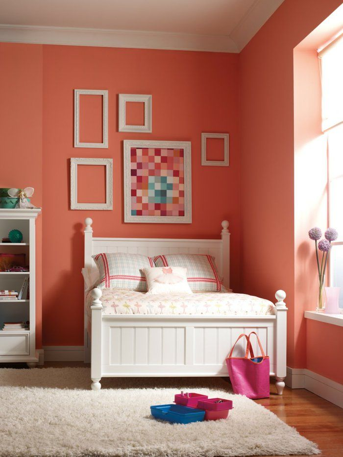 ber ideen zu orange wandfarben auf pinterest orangefarbene w nden benjamin moore und. Black Bedroom Furniture Sets. Home Design Ideas