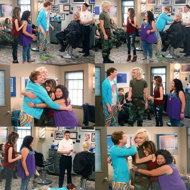 Are austin and ally dating in season 3