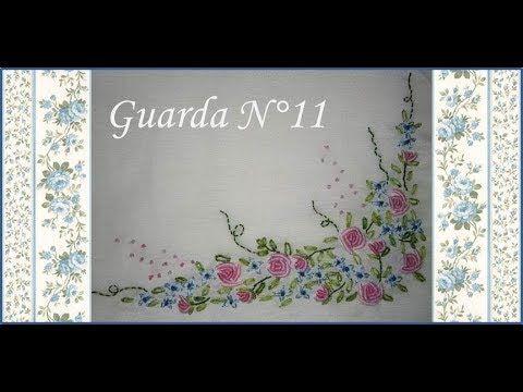 ♥ Como bordar rositas ♥ Guarda N°11 ♥ Parte 1