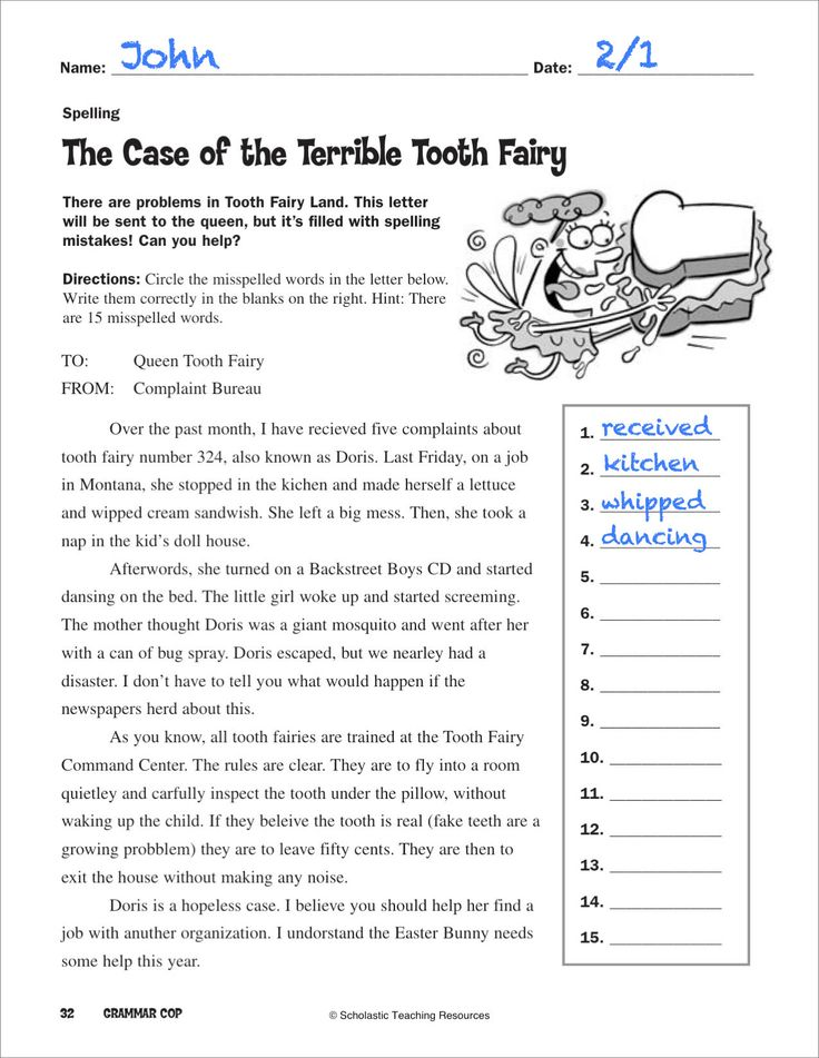 students will have fun reading the hilarious adventure the case of the terrible tooth fairy. Black Bedroom Furniture Sets. Home Design Ideas