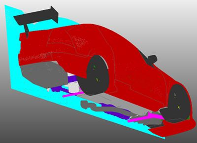 Garry Rogers Motorsport uses Pointwise to generate meshes for CFD simulations of their V8 supercars