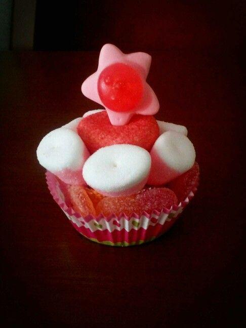 Cupcake de chuches!! Ideal para peques y mayores!!