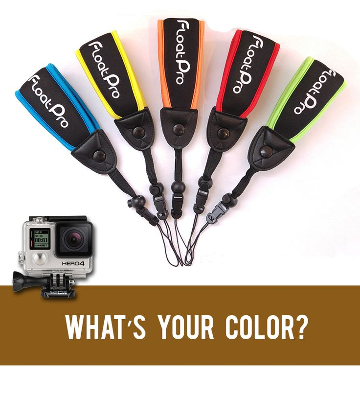 Must-have GoPro accessories for 2015! my color is green http://www.amazon.com/dp/B00KIWJ6S2