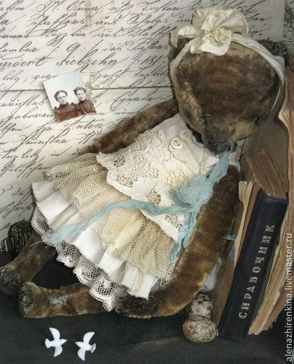 Teddy Bears handmade. Fair Masters - handmade girl. Handmade.