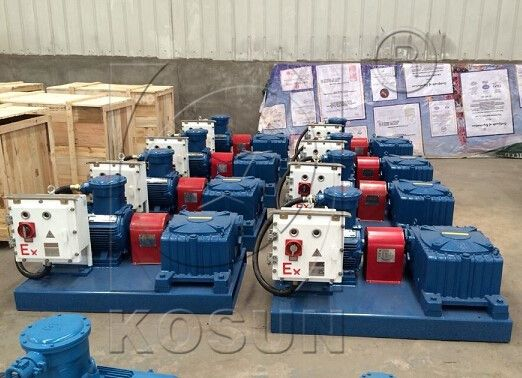 The connection between motor and speed reducer, speeder reducer and impeller shaft is achieved by steel coupling . http://www.kosun.us/solids-control-equipment/mud-agitator.html