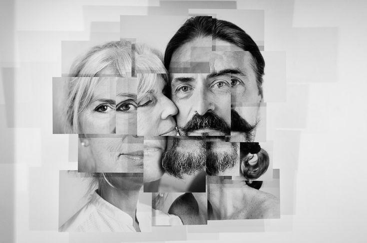 Portraits en photosculpture
