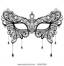 Image result for printable lace masquerade mask template