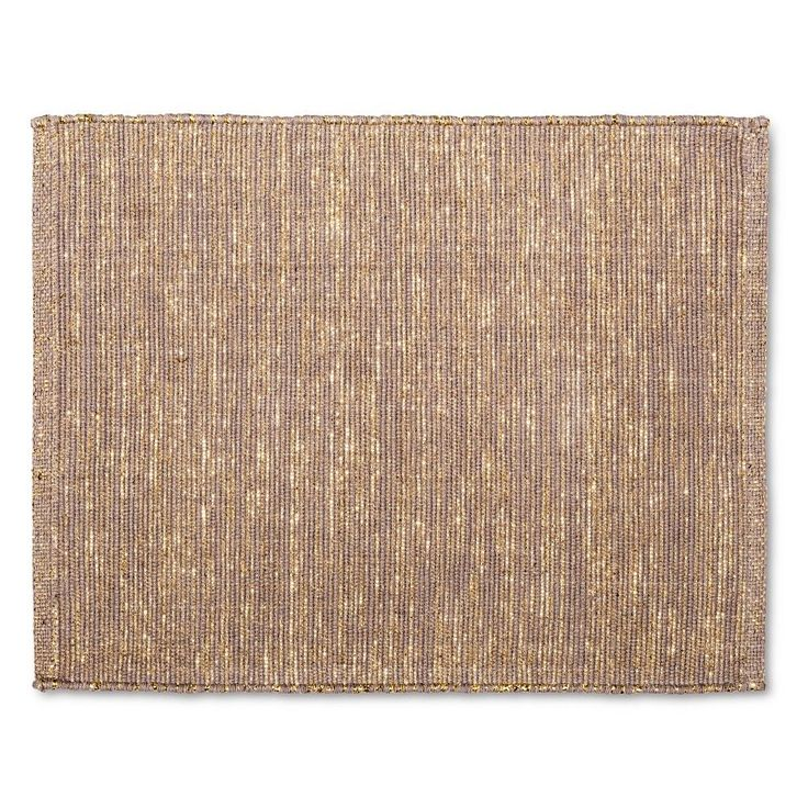 Neutral Placemat Tan - Threshold, Gold
