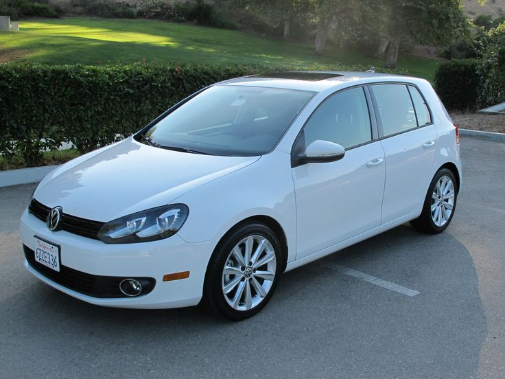 2015 VW Golf TDI White  - Come check out AMSOIL synthetic motor oil for european cars at http://european-motor-oil.syntheticoilandfilter.com/