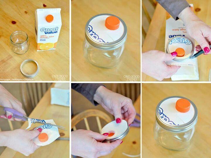 Convet jar into dispenser http://www.onegoodthingbyjillee.com/2013/07/turn-a-mason-jar-into-an-easy-diy-dispenser.html
