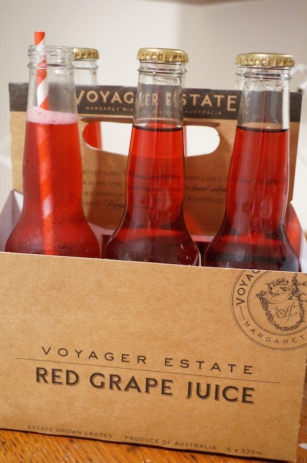 Voyager Estate Sparkling Red Grape Juice 6-pack #margaretriver #perth #shiraz