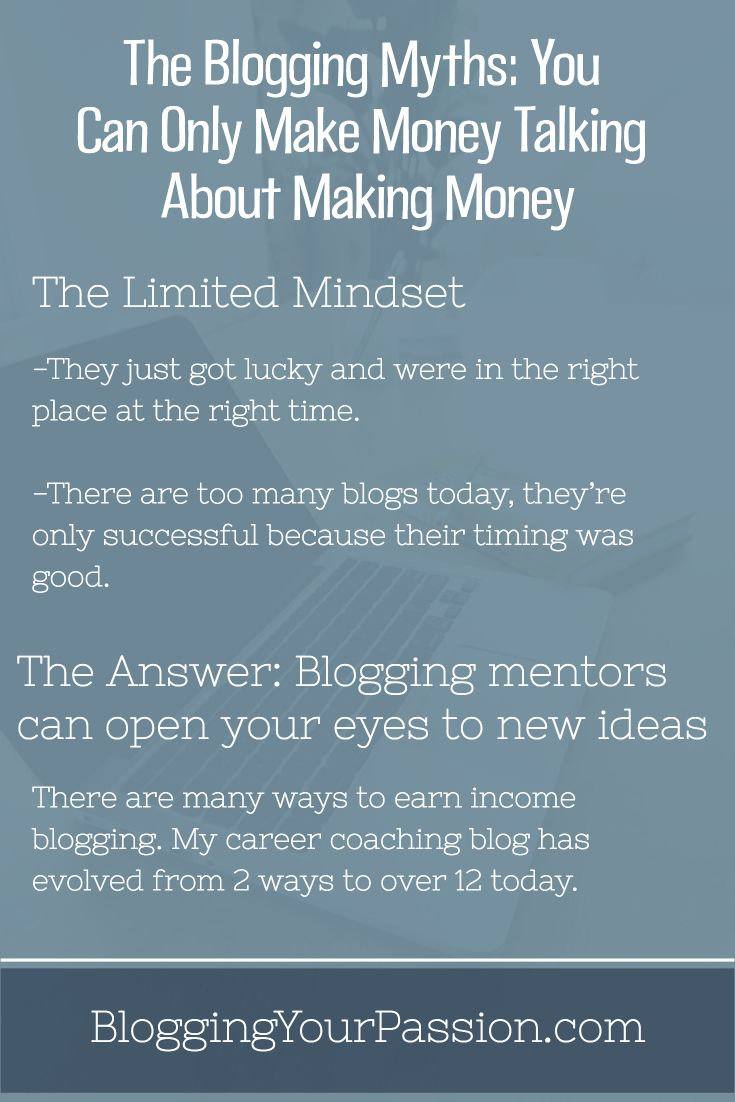 Learn how you can make money blogging if you're willing to hustle! http://bloggingyourpassion.com/he-blogging-myth-you-can-only-make-money-talking-about-making-money/?utm_campaign=coschedule&utm_source=pinterest&utm_medium=Jonathan%20Milligan%20%7C%20Blogging%20Your%20Passion%20%7C%20Tips%2C%20Strategies%20and%20Ideas&utm_content=The%20Blogging%20Myths%3A%20You%20Can%20Only%20Make%20Money%20Talking%20About%20Making%20Money