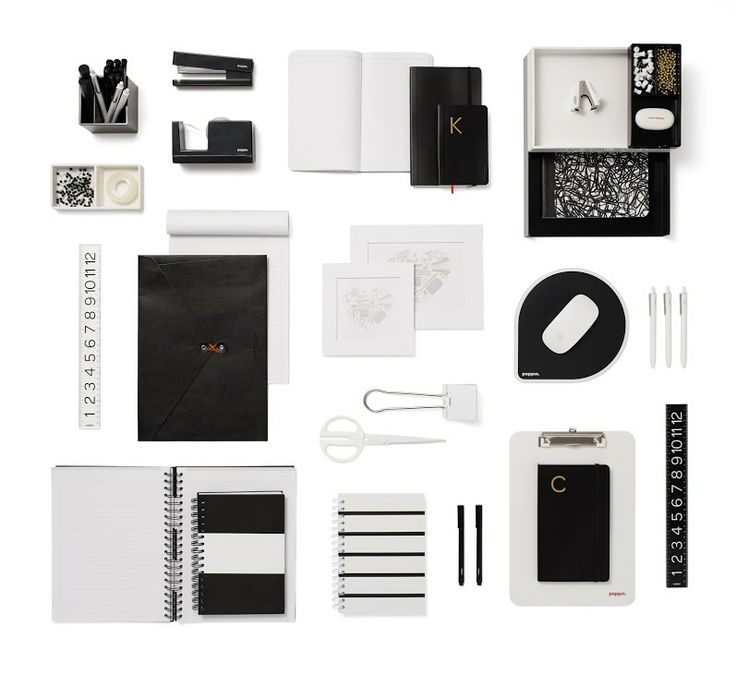 57 best images about black on pinterest beijing for Trendy office supplies