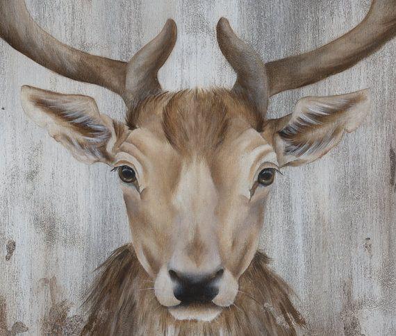 Peinture acrylique peinture Art Original le par SnowtreeGallery