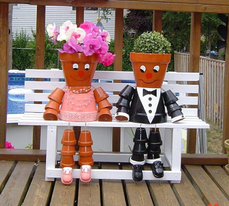 96 Best Images About Wpc Planter Pot: 96 Best Pot People Images On Pinterest