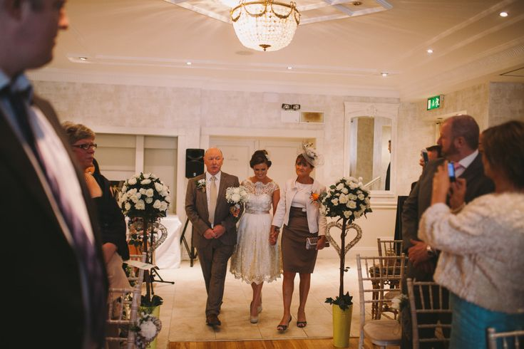 Wedding ceremony at Conyngham Arms by syona photography