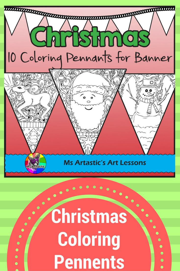 These detailed, zen doodle coloring sheets will keep your students busy during the days leading up to Christmas. All coloring pages are hand drawn by Ms Artastic. These intricate and detailed coloring pennants are great for providing a peaceful, quiet activity for your students and for use for decorating your classroom. They are all original drawings and are completely unique to Ms Artastic's store and are not made up of clip art.