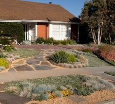 Front Yard Landscaping Curb Appeal Ideas Decomposed Granite Natural Stone  Slabs