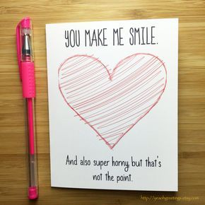 Naughty Love Card, Sexy Card for Boyfriend, Girlfriend Raunchy Gift, I Love You Card, Sexy Greeting, Naughty Anniversary, Happy Anniversary