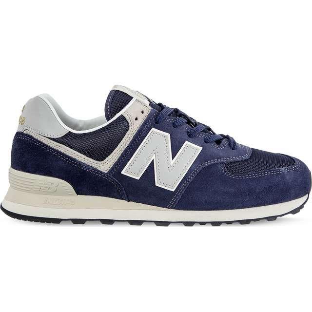 Sportowe Meskie Newbalance New Balance Niebieskie Ml574vla Navy New Balance Shoes Sneakers