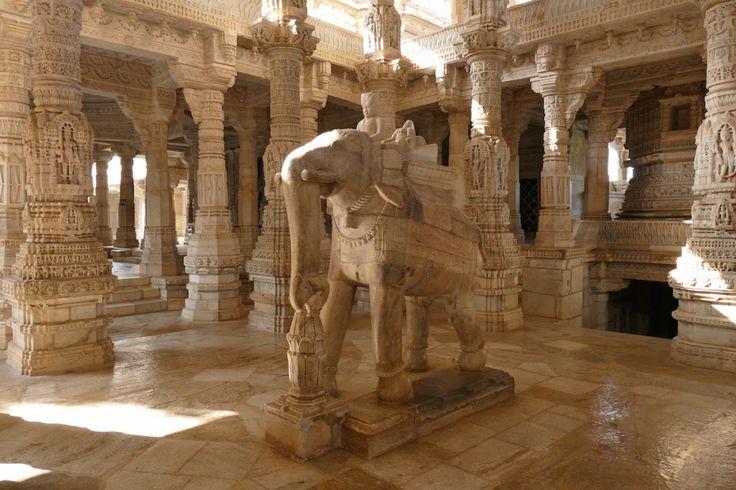 Innenansicht Jain-Tempel, Ranakpur