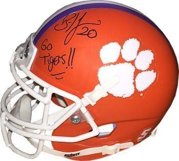 Brian Dawkins Clemson Tigers Helmet