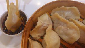 Фото к рецепту: Китайские пельмени цзяоцзы