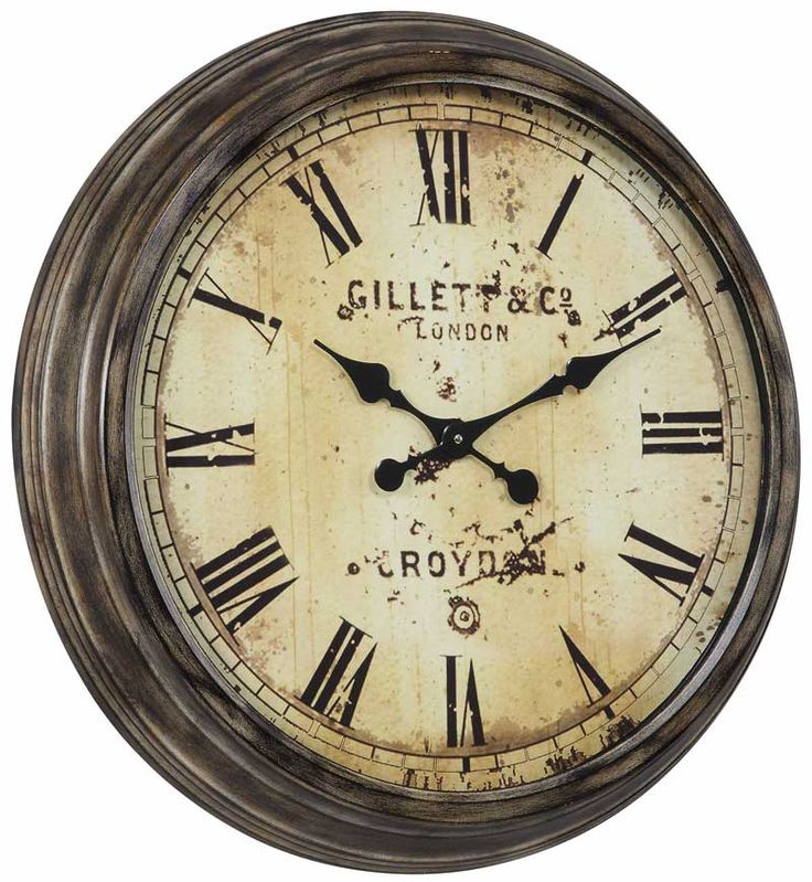 53 best Clocks for Rustic Decor images on Pinterest | Wall clocks ...