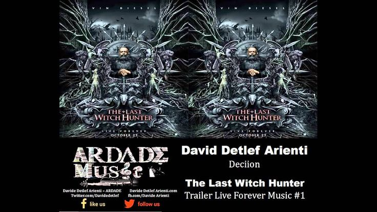The Last Witch Hunter - Trailer Live Forever Music #1 (David Detlef Arie...