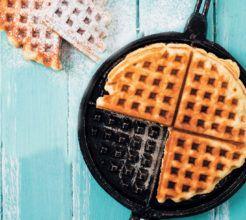Basic Waffle Recipe #Dessert #Recipe #SouthAfrica