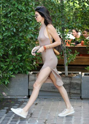 Kendall Jenner: Leaving The Villa Restaurant -01 - Posted on August 6, 2016