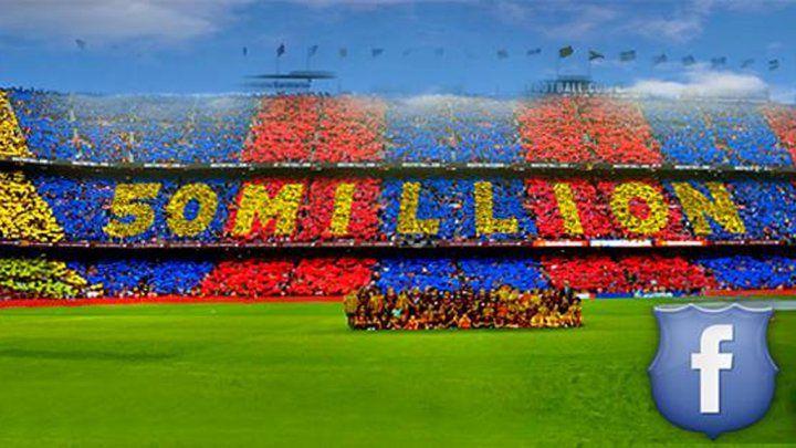 """Le FC Barcelone, club le plus populaire du monde… sur Facebook - France 24. Le FC #Barcelone est devenu le 2 janvier le premier club de football de la planète à franchir la barre symbolique des 50 millions de fans sur le réseau social Facebook. Le Barça devance le Real Madrid et Manchester United. Le PSG est loin derrière. """"Le Barça est le club le plus populaire du monde et cela en est la preuve"""", a commenté Didac Lee, directeur en charge des nouvelles technologies au sein du club catalan."""
