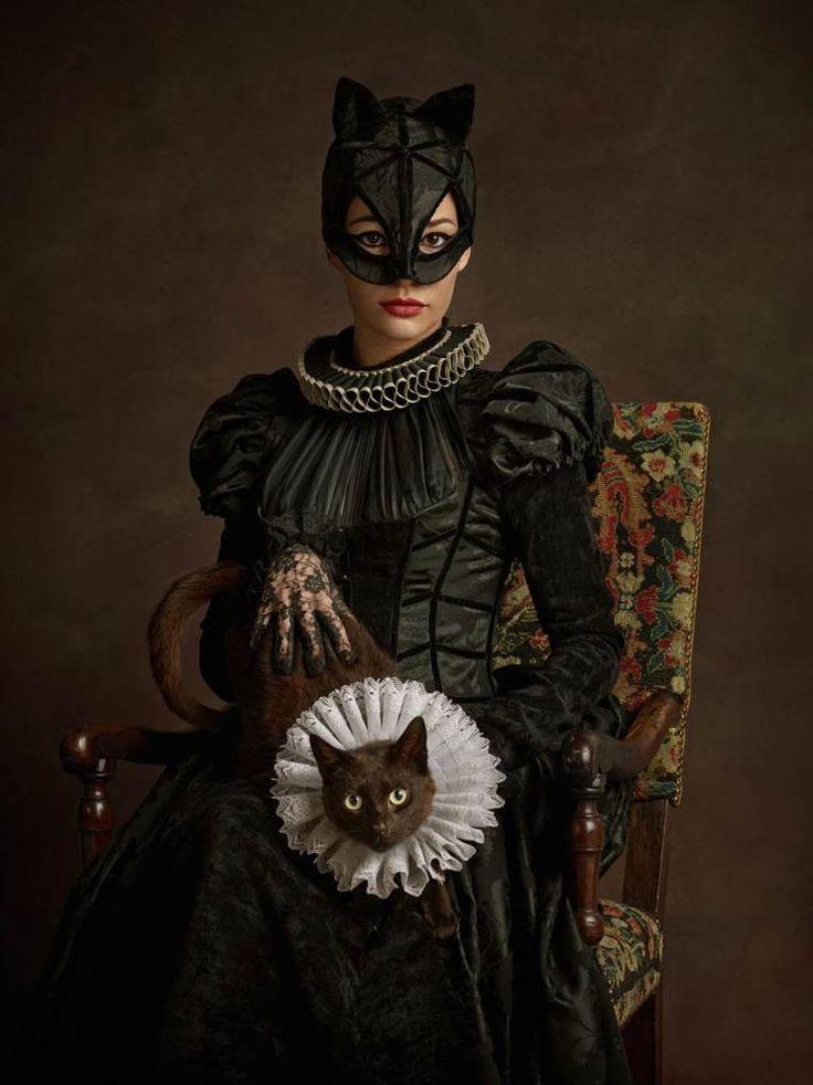 16th Century Catwoman - Meowth my lady - Photography Credit: Sacha-Goldberger - Super Flemishproject