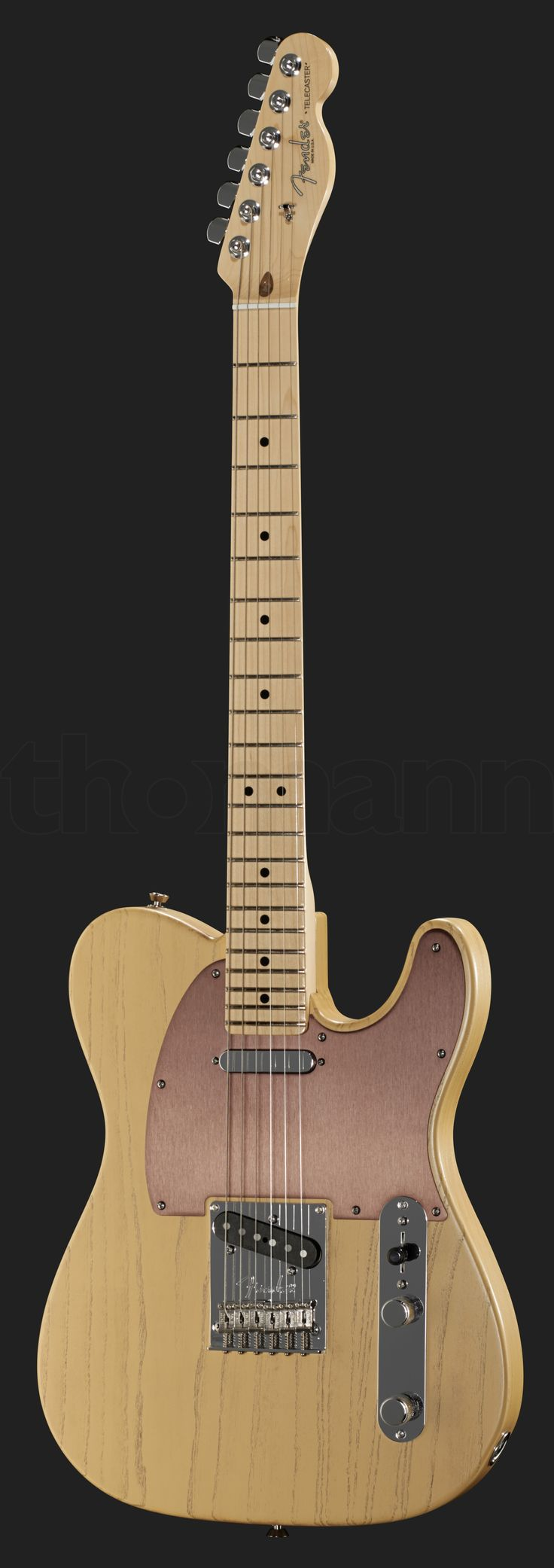 Fender American Telecaster, Rustic Ash Butterscotch Blonde, FSR special edition