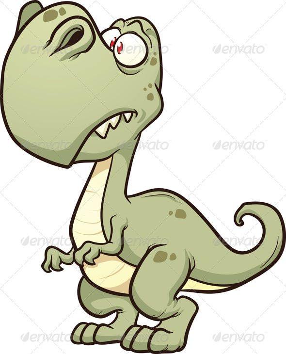 Cartoon Tyrannosaurus Rex T Rex Cartoon Dinosaur Illustration Dinosaur Drawing