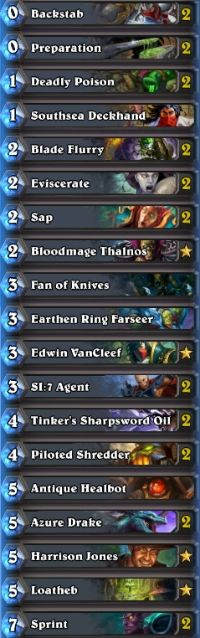 Hearthstone deck guide: Oil Rogue - June 2015 - Hearthstone ~ MetaBomb