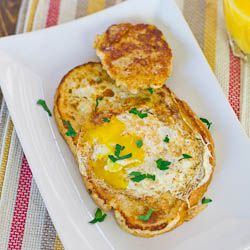 French Toasted Egg In a Hole - new twist on an old favorite