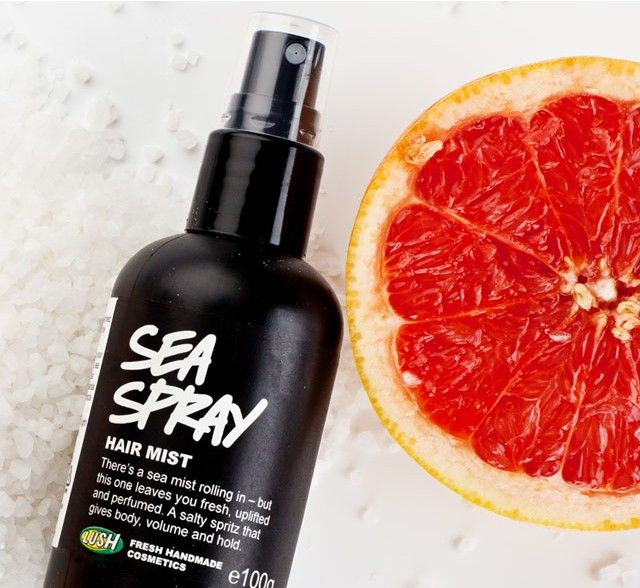 Its all about staying Beautiful inside and out !: Lush Sea Spray Hair Mist Review
