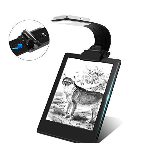 Ayotu clip-on LED Luz de Lectura lámpara de luz flexible de brazo E-Reader con 4 niveles de brillo de con USB Recargable para eBook Readers, Libros Electrónicos,Tablet, iPad, portátiles etc (negro) #Ayotu #clip #Lectura #lámpara #flexible #brazo #Reader #niveles #brillo #Recargable #para #eBook #Readers, #Libros #Electrónicos,Tablet, #iPad, #portátiles #(negro)