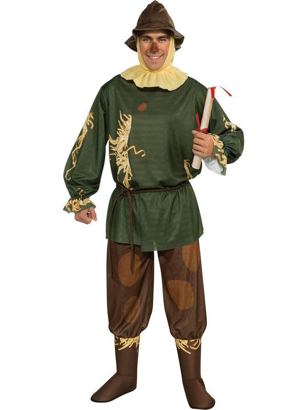 Check out Scarecrow Costume - Mens Wizard of Oz Halloween Costumes from Costume Super Center