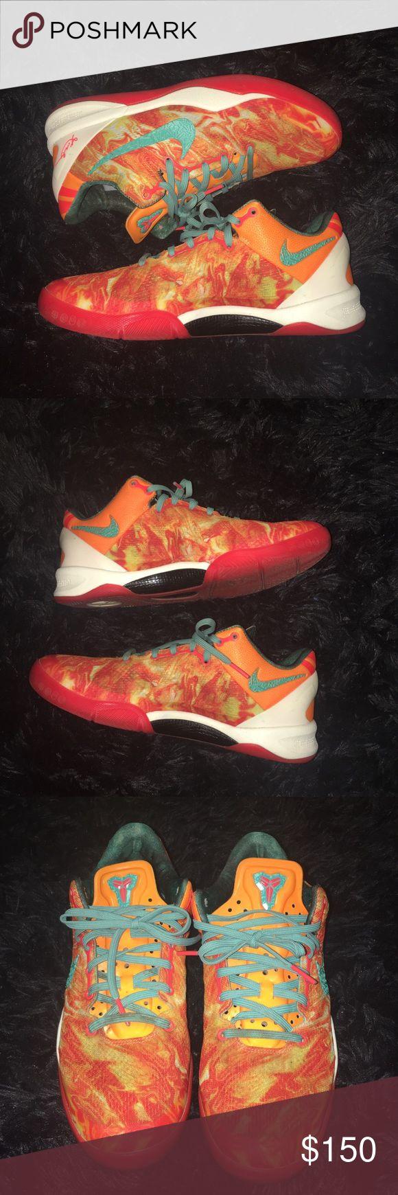 141b4706d027 Best Nike Kobe 8 Elite Cheap sale Lifestyle Orange Gray 586156 8 ...