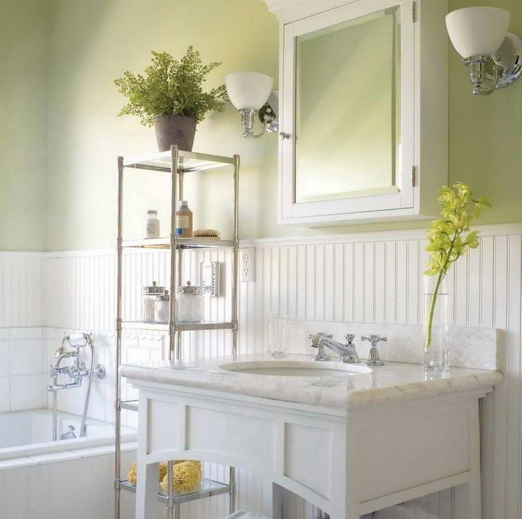 1000+ Ideas About Wainscoting In Bathroom On Pinterest