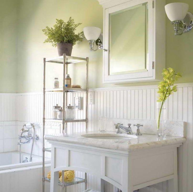 Wainscoting Bathroom