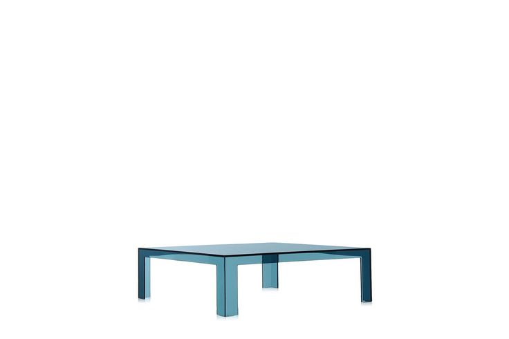 Tokujin Yoshioka 'Invisible' coffee table in Transparent Teal, $1300, Space